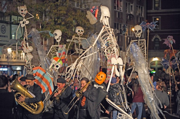 Halloween Parade in Manhattan